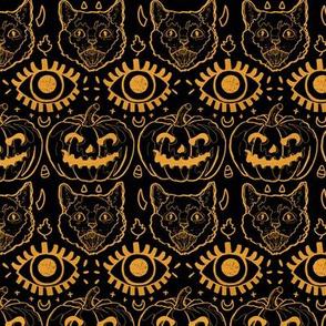 Halloween Fair Isle Small Scale
