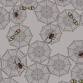 Watcher in the Web Grey