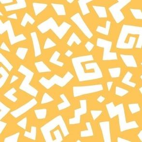 Safari Print on Yellow