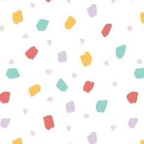 Multicolor Paint Dots
