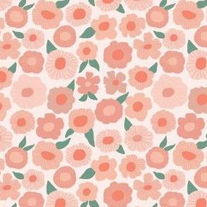 Floral pink summer