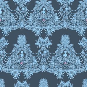 Constance Hatchaway Grey Lace
