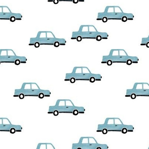 Cool watercolors Paris taxi cab cars traffic travel design for kids cool blue boys