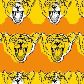 Burnt Orange Lion Roar