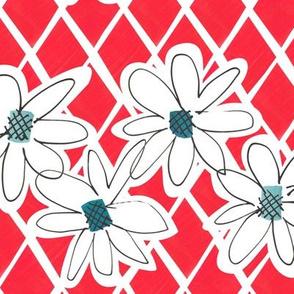 Daisy chain - Cherry - medium
