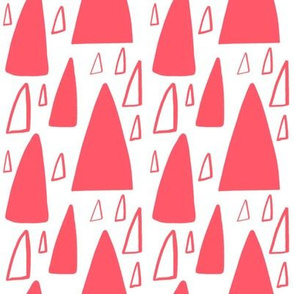Triangle Mountain best bright watermelon pink
