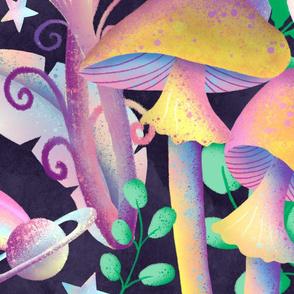 Mushroom Galaxy Black jumbo scale