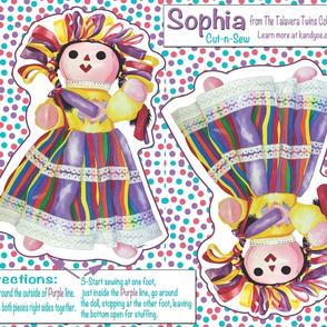 The Talavera Twins- Sophia Cut-n-Sew 21x18
