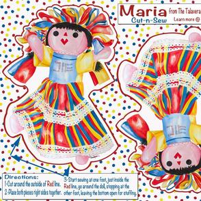 The Talavera Twins-Maria Cut-n-Sew 21x18