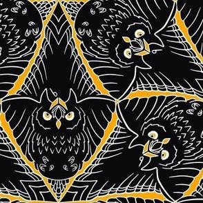 Raven Versus Owl