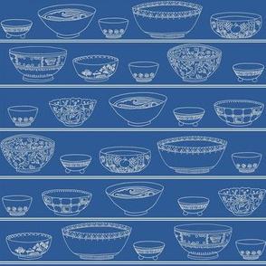 Bowls Aplenty - Classic Blue