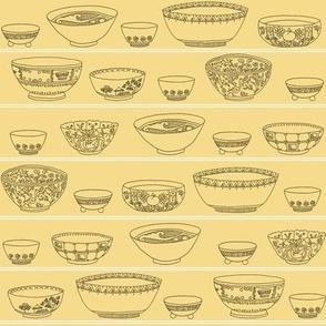 Bowls Aplenty - Pale Yellow