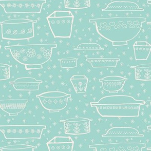 Retro Kitchen Pottery