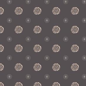 Retro Watercolour Kitchen Pottery - Orange