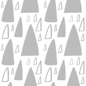 Triangle Mountain dove grey