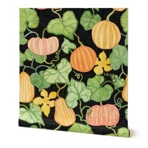 Festive Pumpkin Vine