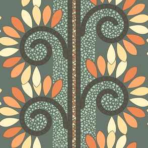 Autumn Vine Mosaic