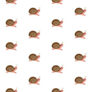 Lolamer - Snail on light background