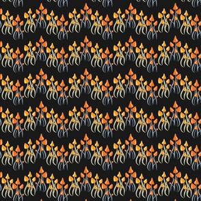 Lolamer - Tiny Mushrooms dark background