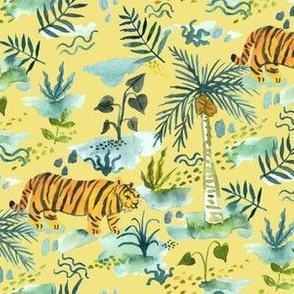 Roaming Rainforest Tiger