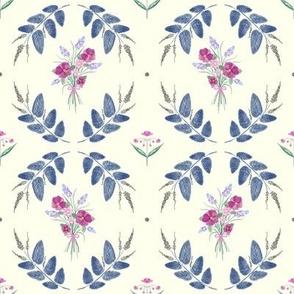 Scalloped Dots - Blush Pink