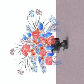 Scalloped Dots - Purple