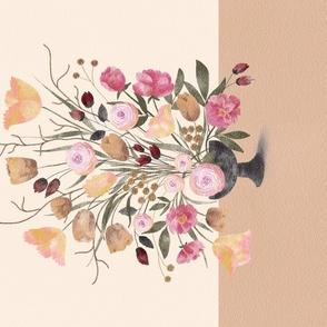 Scalloped Dots - Raspberry
