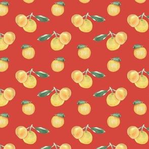 Citrus Pattern 9 Oxy Fire