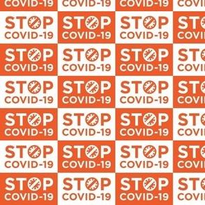 STØP Covid-19 [Red & White]