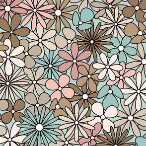 Cute Modern Flowers // Desert Colors 2