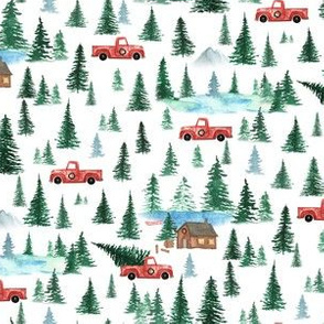 Bringing Home the Tree| Old Truck Christmas Cabin | Renee Davis
