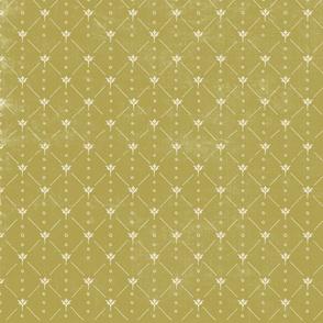 Classic Flower Green TerriConradDesigns