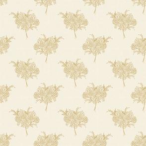 Sketchbook floral blue TerriConradDesigns