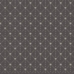 Classic Flower Gray TerriConradDesigns