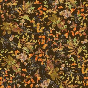 Fall Foliage Brown