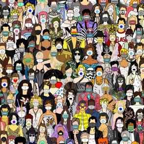 Face Mask Detour Party