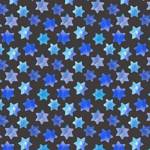 Blue stars Dark