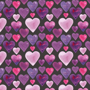 Many hearts Dark