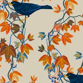Autumn Vines-bone