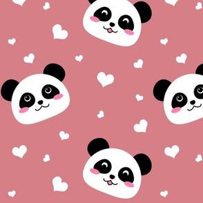 Lots of Pandas! - Pink