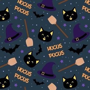 Hocus Pocus - Halloween Witch Pattern