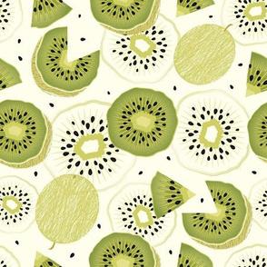 Kiwi fruits fresh
