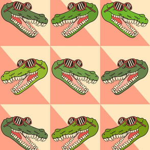 Cool crocodiles