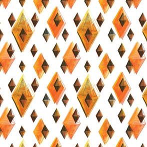 Orange Facets