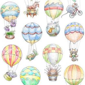 "Animal Hot Air Balloons 2"" resize"
