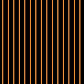 halloween stripe black & orange