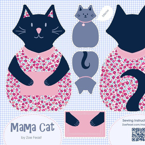 Mama Cat Cut and Sew