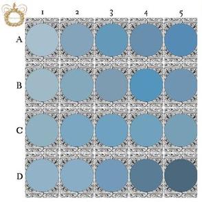 Peacoquette Palette ~ Light Blue Selection