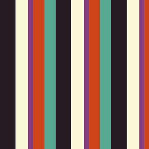 Autumn Wide stripes