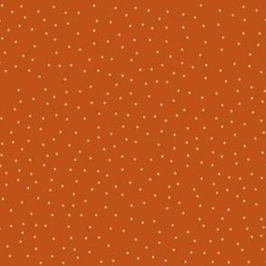 Dots - Pumpkin (larger)